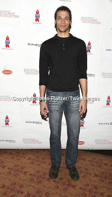 Jordan Donica attends the Broadway Cares/Equity Fights Aids Flea Market and Grand Auction on September 25, 2016 at the Music Box Theatre and in Shubert Ally in New York, New York, USA. <br /> <br /> photo by Robin Platzer/Twin Images<br />  <br /> phone number 212-935-0770