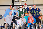 Santa's Basket<br /> --------------------<br /> Members of Tralee Warriors basketball team are lending their support for the 5Km Santa fun run on Dec 11th next, in aid of Barretstown hospital for children, starting at the Tralee Wetlands at 11am, pictured before a training session at Moyderwell school gym last Tuesday evening were, front, L-R Gary Fernane, Feral O'Sullivan, Raul Venczel and Jimmy Diggins, back L-R Ryan Leonard, Mark Bernsen (team coach) Paul McMahon, Rick Leonard, Gorden Pantovic, Trae Pemberton&amp;Darren O'Sullivan