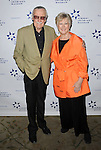 Stan Lee and Margaret Loesch at the '13th Annual Discovery Award Dinner' held at the Beverly Hills Hotel November 14, 2013