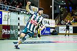 Stockholm 2014-03-02 Handboll Elitserien Hammarby IF - Ystads IF :  <br /> Hammarbys Kasper Ottesen jublar efter att ha gjort m&aring;l i den andra halvleken<br /> (Foto: Kenta J&ouml;nsson) Nyckelord:  Ystad Bajen HIF jubel gl&auml;dje lycka glad happy