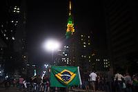 SAO PAULO 18 DE JUNHO DE 2013  - Manifestantes do Passe Livre em mais um protesto contra a tarifa de onibus na tarde desta terca-feira (18) na Av. Brigadeiro e Av. Paulista.(Foto: Amauri Nehn/Brazil Photo Press)