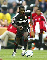3 April 2004: Freddy Adu in action at RFK Stadium in Washington D.C..  Credit: Michael Pimentel / ISI
