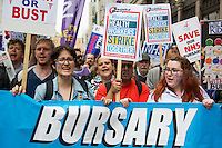 "04.06.2016 - ""Save Our Bursary"" Demonstration - #‎BursaryOrBust"