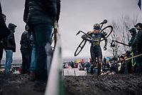 Corn&eacute; van Kessel (Ned/Telenet Fidea Lions)<br /> <br /> Superprestige cyclocross Hoogstraten 2019 (BEL)<br /> Elite Men's Race<br /> <br /> &copy;kramon