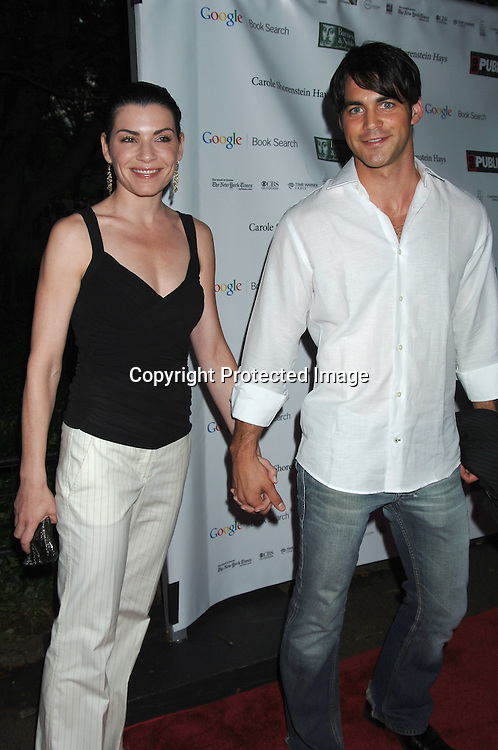 Julianna Margulies and guest..arriving at The Public Theatre's Summer Gala honoring Kevin Kline and Meryl Streep at The Opening NIght of MacBeth at Shakespeare in the Park on June 28, 2006. ..Robin Platzer, Twin Images