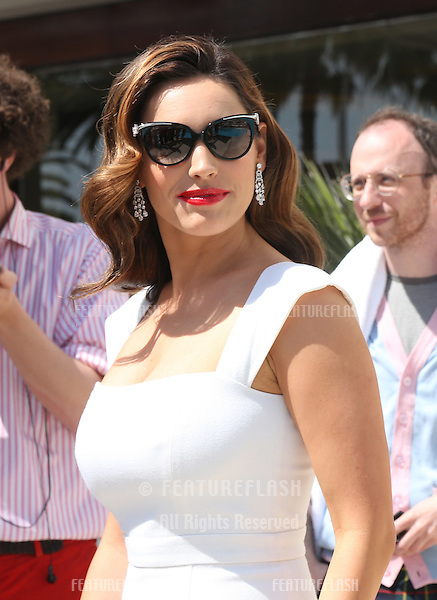 Kelly Brook at the 'Keith the Movie' photocall.Cannes, France. 19/05/2012 Picture by: Henry Harris / Featureflash