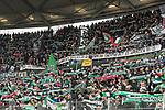 10.02.2018, HDI Arena, Hannover, GER, 1.FBL, Hannover 96 vs SC Freiburg<br /> <br /> im Bild<br /> Fans von Hannover 96 halten Fan-Schals in die H&ouml;he, schwenken Fahnen, unterst&uuml;tzen Ihre Mannschaft, <br /> <br /> Foto &copy; nordphoto / Ewert
