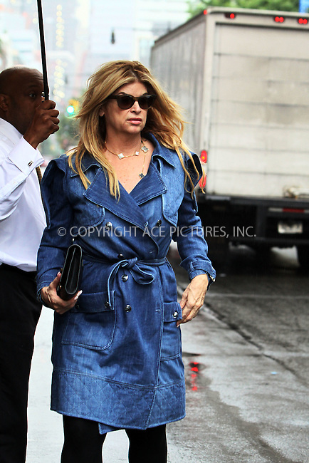 WWW.ACEPIXS.COM . . . . .  ....June 23 2011, New York City....Actress Kirstie Alley leaving her dowtown hotel on June 23 2011 in New York City....Please byline: CURTIS MEANS - ACE PICTURES.... *** ***..Ace Pictures, Inc:  ..Philip Vaughan (212) 243-8787 or (646) 679 0430..e-mail: info@acepixs.com..web: http://www.acepixs.com