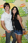 Zac Efron and Vanessa Hudgens arriving at the 2009 Kids Choice Awards held at UCLA's Pauley Pavilion Westwood, Ca. March 28, 2009. Fitzroy Barrett