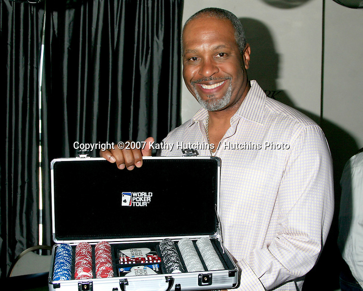 James Pickens Jr.GBK Emmy Gifting Suite.Hollywood Roosevelt Hotel.Los Angeles,  CA.September 14, 2007.©2007 Kathy Hutchins / Hutchins Photo...