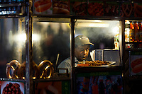 Hot Dog seller, New York City.