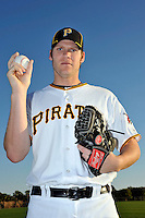 Feb 28, 2010; Bradenton, FL, USA; Pittsburgh Pirates  pitcher Jeff Sues (83) during  photoday at Pirate City. Mandatory Credit: Tomasso De Rosa/ Four Seam Images