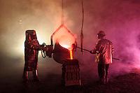 Hot Steel Pour Reenactment