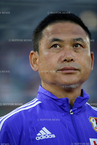 Norio Sasaki (JPN), <br /> MAY 24, 2015 - Football / Soccer : MS&amp;AD Nadeshiko Cup 2015 match between Womens Japan and Womens New Zealand at Marugame stadium, Kagawa, Japan. (Photo by AFLO)