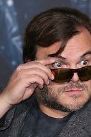 HOLLYWOOD, LOS ANGELES, CA, USA - DECEMBER 09: Jack Black arrives at the World Premiere Of New Line Cinema, MGM Pictures And Warner Bros. Pictures' 'The Hobbit: The Battle of the Five Armies' held at the Dolby Theatre on December 9, 2014 in Hollywood, Los Angeles, California, United States. (Photo by Xavier Collin/Celebrity Monitor)