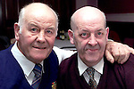 Peter and Joe Reynolds at the Pearse Park Old Folks party in the Bridgeford..Picture Paul Mohan Newsfile