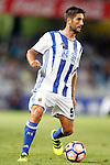 Real Sociedad's Markel Bergara during La Liga match. August 21,2016. (ALTERPHOTOS/Acero)