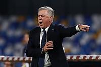 Carlo Ancelotti coach of Napoli gestures<br /> Napoli 19-10-2019 Stadio San Paolo <br /> Football Serie A 2019/2020 <br /> SSC Napoli - Hellas Verona FC<br /> Photo Cesare Purini / Insidefoto