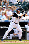 26 August 2007:  Colorado Rockies first baseman Todd Helton in action against the Washington Nationals at Coors Field in Denver, Colorado. The Rockies defeated the Nationals 10-5 to sweep the 3-game series...Mandatory Photo Credit: Ed Wolfstein Photo
