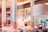 Murano Grande Lobby, South Beach. Interior by David Rockwell, New York. Architecture by Siegar Suarez Architectural Partnership.