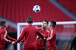 ATLANTA, GA - DECEMBER 07: Atlanta United FC's Miles Robinson. The MLS Cup 2018 Team Training Sessions were held on December 7, 2018 at the Mercedes Benz Stadium in Atlanta, GA.