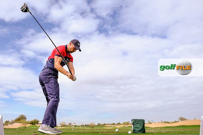 Martin Kaymer (GER) during the preview round of the Waste Management Phoenix Open, TPC Scottsdale, Scottsdale, Arisona, USA. 30/01/2019.<br /> Picture Fran Caffrey / Golffile.ie<br /> <br /> All photo usage must carry mandatory copyright credit (© Golffile | Fran Caffrey)