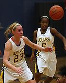 Southfield Lathrup at Clarkston, Girls Varsity Basketball, December 16, 2011