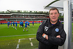 Rosenborg v St Johnstone....17.07.13  UEFA Europa League Qualifier.<br /> St Johnstone Manager Tommy Wright in the Lerkendal Stadium<br /> Picture by Graeme Hart.<br /> Copyright Perthshire Picture Agency<br /> Tel: 01738 623350  Mobile: 07990 594431