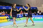 Misaki Matsutomo & Ayaka Takahashi (JPN), <br /> SEPTEMBER 20, 2013 - Badminton : <br /> Yonex Open Japan 2013 <br /> Women's Doubles <br /> at Tokyo Metropolitan Gymnasium, Tokyo, Japan. <br /> (Photo by YUTAKA/AFLO SPORT) [1040]