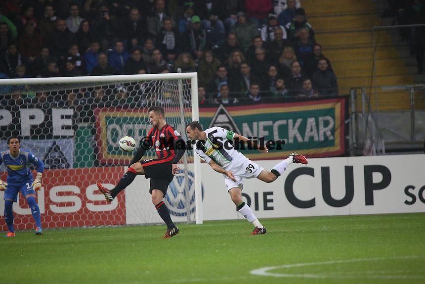 - Eintracht Frankfurt vs. Borussia Mönchengladbach, DFB-Pokal 2. Runde, Commerzbank Arena