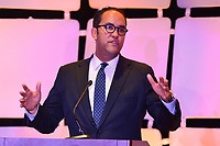 Washington, DC - March 6, 2019: U.S. Rep. William Hurd speaks at Legislative Summit co-hosted by The Latino Coalition and Job Creators Network at the Park Hyatt Hotel in Washington, D.C. March 6, 2019.  (Photo by Don Baxter/Media Images International)