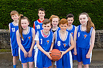 St Ann's Farranfore. Jason Brennan, Dillon Callaghan, Chloe O'Connor, Katie Brosnan, Bríd Flynn, Tadhg Riordan, Darragh Brosnan and Conor Henderson taking part in An Garda Síochána and Kerry Youth Service annual Basketball Blitz tournament at Castleisland Community Centre on Friday