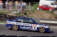 Round 10 of the 1991 British Touring Car Championship. #4 Tim Harvey (GBR). BMW Team Labatt's. BMW M3.