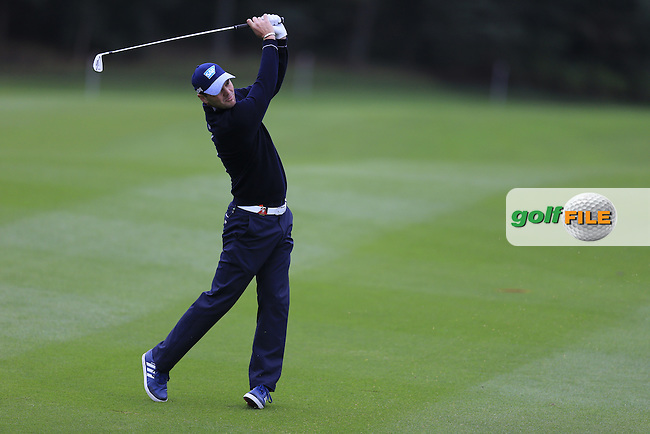 Martin Kaymer GER) on the 2nd during round 3 of the WGC-HSBC Champions, Sheshan International GC, Shanghai, China PR.  29/10/2016<br /> Picture: Golffile | Fran Caffrey<br /> <br /> <br /> All photo usage must carry mandatory copyright credit (&copy; Golffile | Fran Caffrey)