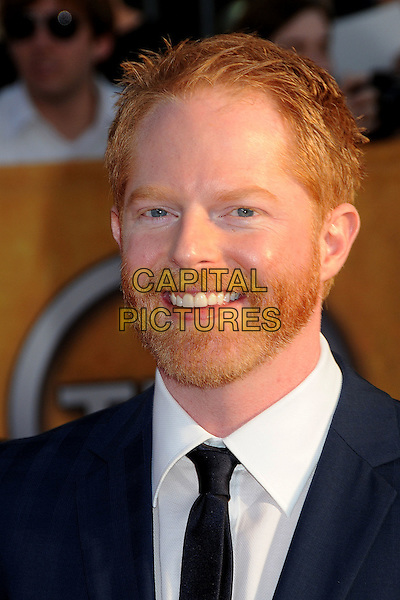 JESSE TYLER FERGUSON.16th Annual Screen Actors Guild Awards - Arrivals held at The Shrine Auditorium, Los Angeles, California, USA..January 23rd, 2009.SAG SAGs headshot portrait black white blue beard facial hair .CAP/ADM/BP.©Byron Purvis/Admedia/Capital Pictures