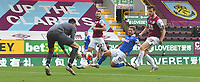 Burnley's Nick Pope saves a shot from Brighton & Hove Albion's Alexis Mac Allister<br /> <br /> Photographer Dave Howarth/CameraSport<br /> <br /> The Premier League - Burnley v Brighton & Hove Albion - Sunday 26th July 2020 - Turf Moor - Burnley<br /> <br /> World Copyright © 2020 CameraSport. All rights reserved. 43 Linden Ave. Countesthorpe. Leicester. England. LE8 5PG - Tel: +44 (0) 116 277 4147 - admin@camerasport.com - www.camerasport.com