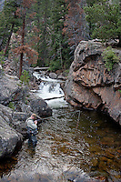 Published on the Cover of Southwest Fly Fishing - March 12 <br />