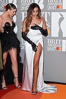 Little Mix - Jade Thirlwall at the 2017 Brit Awards at the O2 Arena in London, UK. <br /> 22 February  2017<br /> Picture: Steve Vas/Featureflash/SilverHub 0208 004 5359 sales@silverhubmedia.com