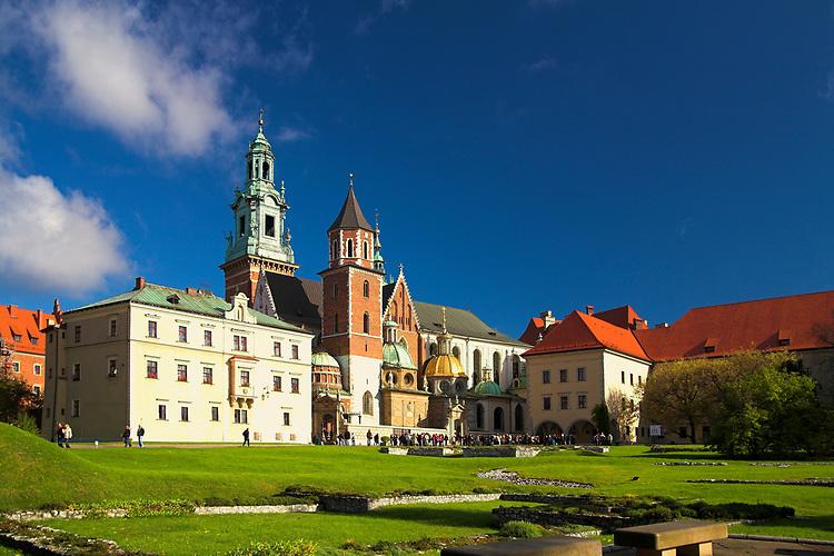 Katedra wawelska w Krakowie<br /> Wawel Cathedral in Cracow, Poland