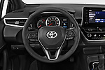 Car pictures of steering wheel view of a 2019 Toyota Corolla SE 5 Door Hatchback Steering Wheel