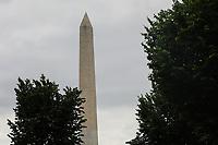 WASHINGTON, DC, 24.05.2017 - TURISMO-USA - Vista do Monumento a Washington ou Monumento de Washington é um obelisco localizado no centro do Constitution Gardens, em Washington, D.C., Estados Unidos. Foi construído como um memorial a George Washington, entre 1848 a 1885(Foto: Vanessa Carvalho/Brazil Photo Press)