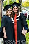 Marta Witkowska, Multimedia Graduates and Mary Philpott, Childcare Management, Currow at the Kerry College of Further Education Graduations at the Brandon Hotel on Thursday.