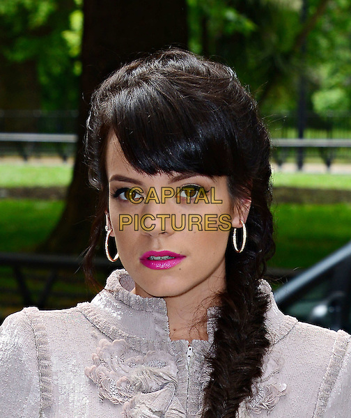 LONDON, ENGLAND - MAY 22:   Lily Allen attends The Ivor Novello Awards, the 59th annual songwriting and composing awards, at Grosvenor House, 86-90 Park Lane, on May 22, 2014, in London, England.<br /> <br /> CAP/JOR<br /> &copy;Nils Jorgensen/Capital Pictures