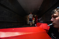 33 coffins containing the corpses of Russian volunteers and mercenaries who died in clashes are prepared to be transported to Russia.  Donetsk, Ukraine