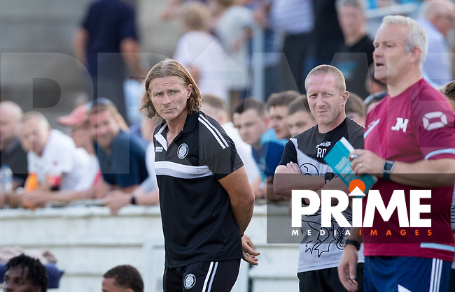 Wycombe Wanderers Manager Gareth Ainsworth during the 2018/19 Pre Season Friendly match between Chesham United and Wycombe Wanderers at the Meadow , Chesham, England on 24 July 2018. Photo by Andy Rowland.