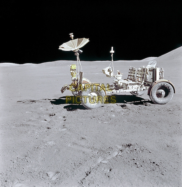 Lunar Rover.space universe galaxy gv general view moon wheels satellite .*Editorial Use Only*.CAP/NASA/PLF.Supplied by PLF/NASA/Capital Pictures