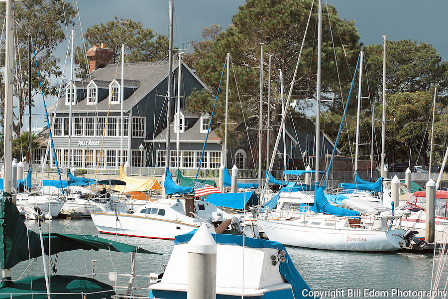 The Jolly Roger Restaurant at Oceanside Harbor.