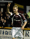 20/09/2006        Copyright Pic: James Stewart.File Name : sct_jspa12_alloa_v_hearts.JUHO MAKELA SCORES HEARTS SECOND......Payments to :.James Stewart Photo Agency 19 Carronlea Drive, Falkirk. FK2 8DN      Vat Reg No. 607 6932 25.Office     : +44 (0)1324 570906     .Mobile   : +44 (0)7721 416997.Fax         : +44 (0)1324 570906.E-mail  :  jim@jspa.co.uk.If you require further information then contact Jim Stewart on any of the numbers above.........