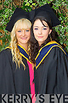 General Nursing graduates pictured at the ITT graduations in the Brandon Hotel on Friday: Maria Fitzgerald (Currow) and Leonora O'Donovan (Castleisland).