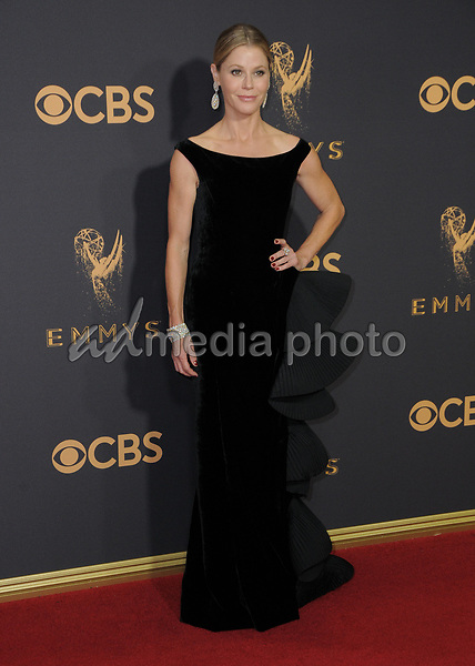 17 September  2017 - Los Angeles, California - Julie Bowen. 69th Annual Primetime Emmy Awards - Arrivals held at Microsoft Theater in Los Angeles. Photo Credit: Birdie Thompson/AdMedia
